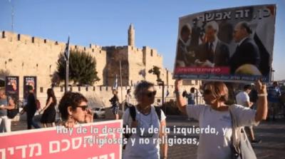 Mujeres judías y árabes marchan por la paz en Jerusalén