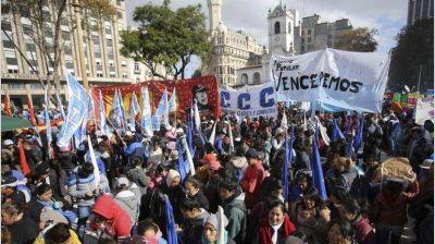 El otro paro: quiénes harán 36 horas de huelga y con movilización