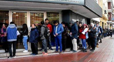 Llaman la atención los datos de desocupación en Mar del Plata
