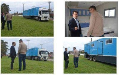 Arranca este lunes en Miramar la atención de los camiones sanitarios