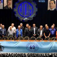 """""""Recuperamos las 62 Organizaciones para los trabajadores"""""""