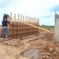 Avanzan con las obras hídricas que solucionarán problemas en Hunter