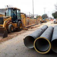 La provincia duplicó la inversión en saneamiento para la ciudad