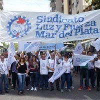 Luz y Fuerza Mar del Plata adhiere al paro nacional de 36 horas