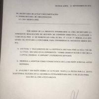 Sica avaló la suspensión de las elecciones y Cavalieri convocó al Consejo Directivo con dudas sobre el futuro