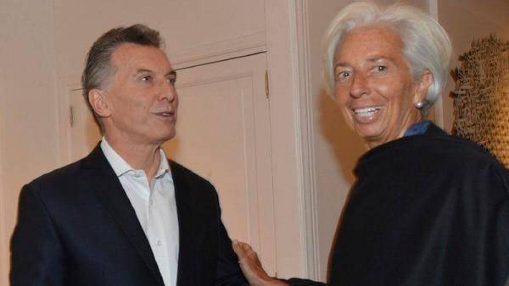 Mauricio Macri se reunirá con Lagarde en Nueva York para cerrar el nuevo acuerdo con el FMI