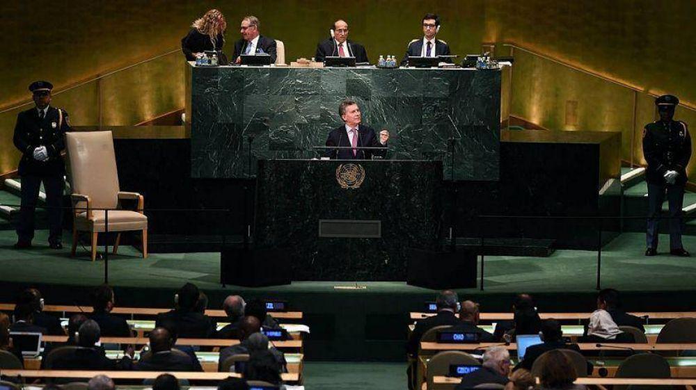 En pleno paro nacional, Macri pronuncia hoy su tercer discurso ante la ONU