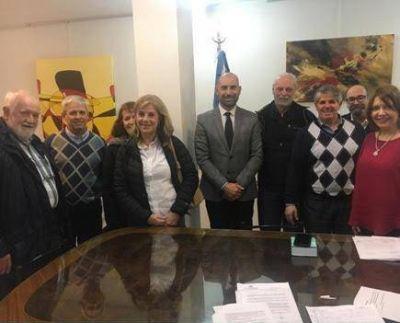 Ingenieros gestionan mejoras del ejercicio profesional ante el Departamento Judicial Mar del Plata