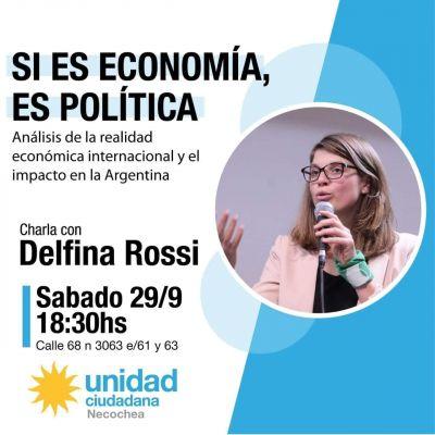 Delfina Rossi disertará en Necochea