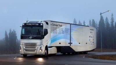 Volvo Trucks continúa firme en su apuesta por camones eléctricos autónomos