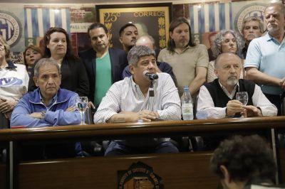 """Pablo Moyano: """"Macri respondió al paro bailando con el FMI"""""""