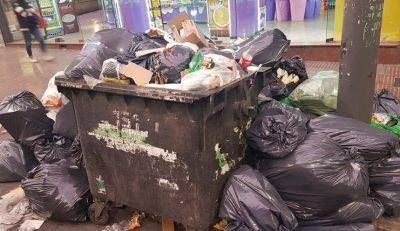 La ciudad está tapada de basura