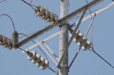 """Está """"frenada"""" una importante obra eléctrica que potencia a la ciudad"""