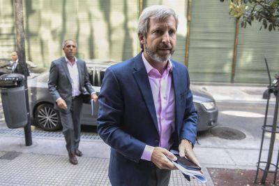 Frigerio ratificó que el presupuesto se mantiene sin cambios, más allá del programa con el FMI