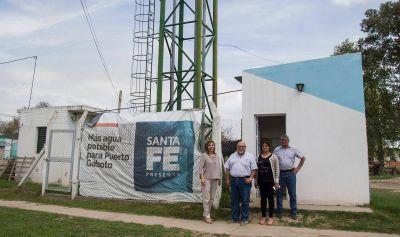 Se garantiza agua potable a 3000 personas de Puerto Gaboto