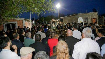 Inauguración: La villa que esperó 30 años para tener agua potable