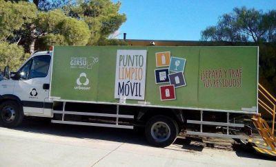 Trelew: El Punto Limpio Móvil de Girsu estará en el barrio Santa Mónica