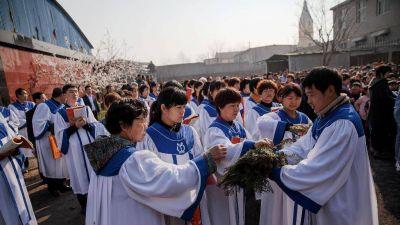 El Papa: lo que pasa con la Iglesia en China es signo de nuestro tiempo