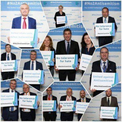 #No2Antisemitismo: Líderes de todo el mundo en un foro contra el antisemitismo en las Naciones Unidas
