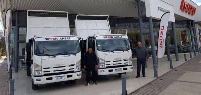 Nuevos camiones ISUZU para la Municipalidad de San Rafael