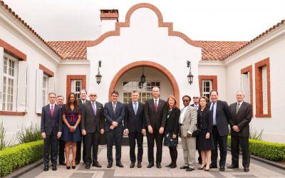 Macri recibió a los miembros del directorio de Chevron
