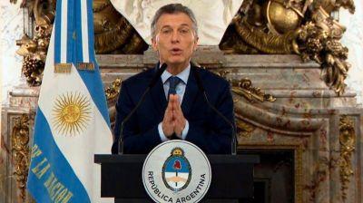 El gobierno de Mauricio Macri: la estrategia de correr el arco
