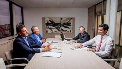Massa, Urtubey, Schiaretti y Pichetto dieron el primer paso para unir al peronismo federal