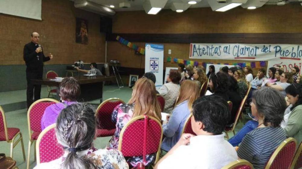 El arzobispo de La Plata dio pautas para los referentes de Cáritas Argentina