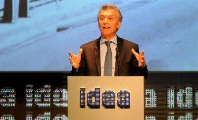 Macri, Vidal, Frigerio y Sica hablarán ante los empresarios en Mar del Plata