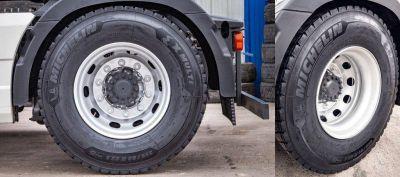 Michelin presentó el nuevo neumático para transporte de cargas X-Multi D2