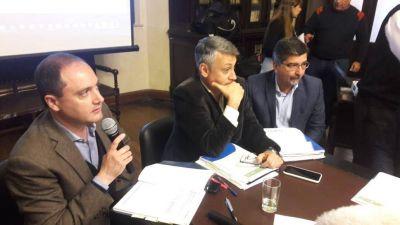 Diputados recibieron a funcionarios para abordar un proyecto sobre energías renovables