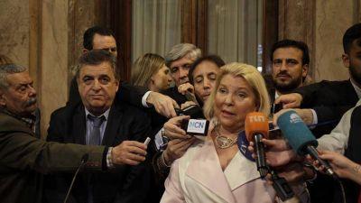 El PJ y el kirchnerismo le impidieron a Carrió presidir la bicameral que controla los fiscales