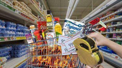 Alimentos: aun con desplome del consumo, grandes empresas vuelven a remarcar precios
