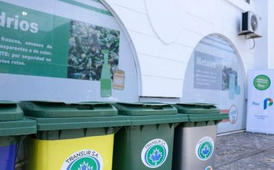 En un año, triplicaron en Pilar la recolección de residuos reciclables en el distrito