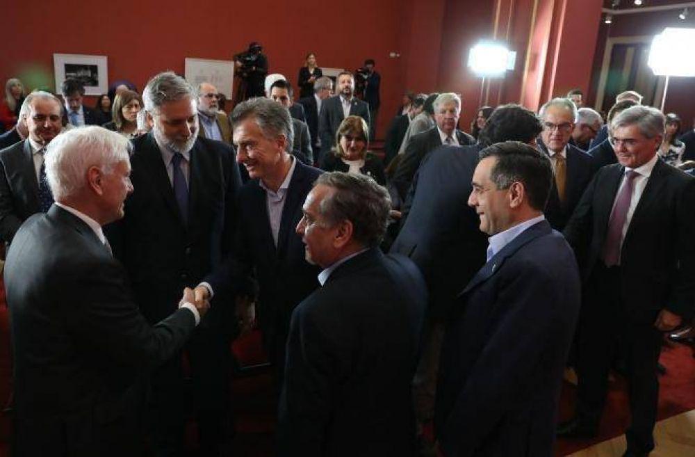 Macri presentó tecnología para ingeniería