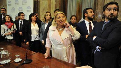 El Gobierno se resigna y admite que Elisa Carrió no dará marcha atrás en su cruzada contra Germán Garavano