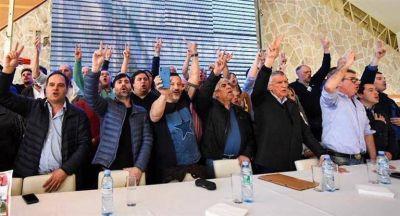 Con Gioja, Menéndez y Moyano, el PJ realizó plenario en la Quinta sección electoral
