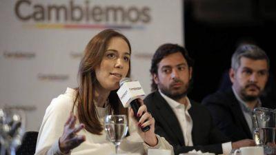 Vidal no quiere ir de vice de Macri y dicen que suma más en Provincia