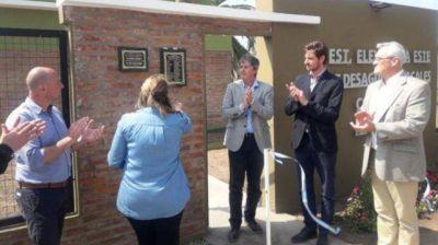 Inauguraron mejoras en el servicio de cloacas para unos 1.200 vecinos