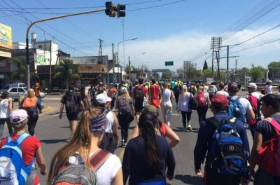 """El testimonio de los peregrinos: """"El camino a Luján es la síntesis de la vida"""""""