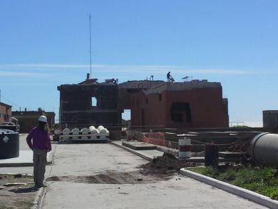 Progresa demolición de vieja Planta de Pretratamiento para generar un nuevo espacio verde en Zona Norte