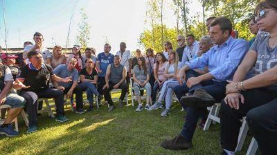 De regreso a La Matanza, Sergio Massa busca recuperar peronistas aliados a Mauricio Macri
