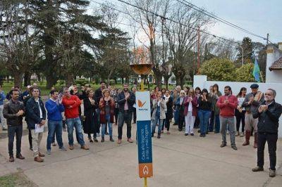 Moreno: Iguacel inauguró obra de gas natural