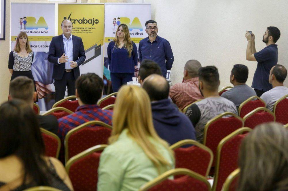 La Ciudad lanzó un ciclo de formación para delegados sindicales