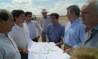 Invertirán mil millones de dólares en obras para la cuenca del Río Salado
