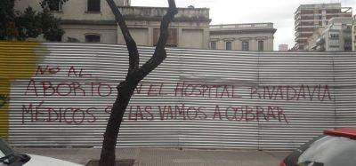 Intentaron frenar un aborto legal en el hospital Rivadavia