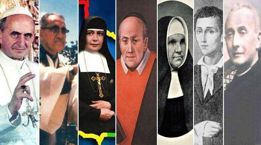 Estos son los 7 beatos que serán declarados santos próximamente