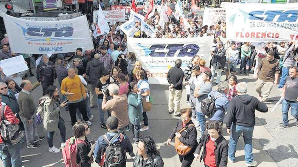 Marcha a Metrogas