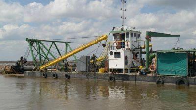 Avanzan las obras para mitigar inundaciones en la Cuenca del Salado