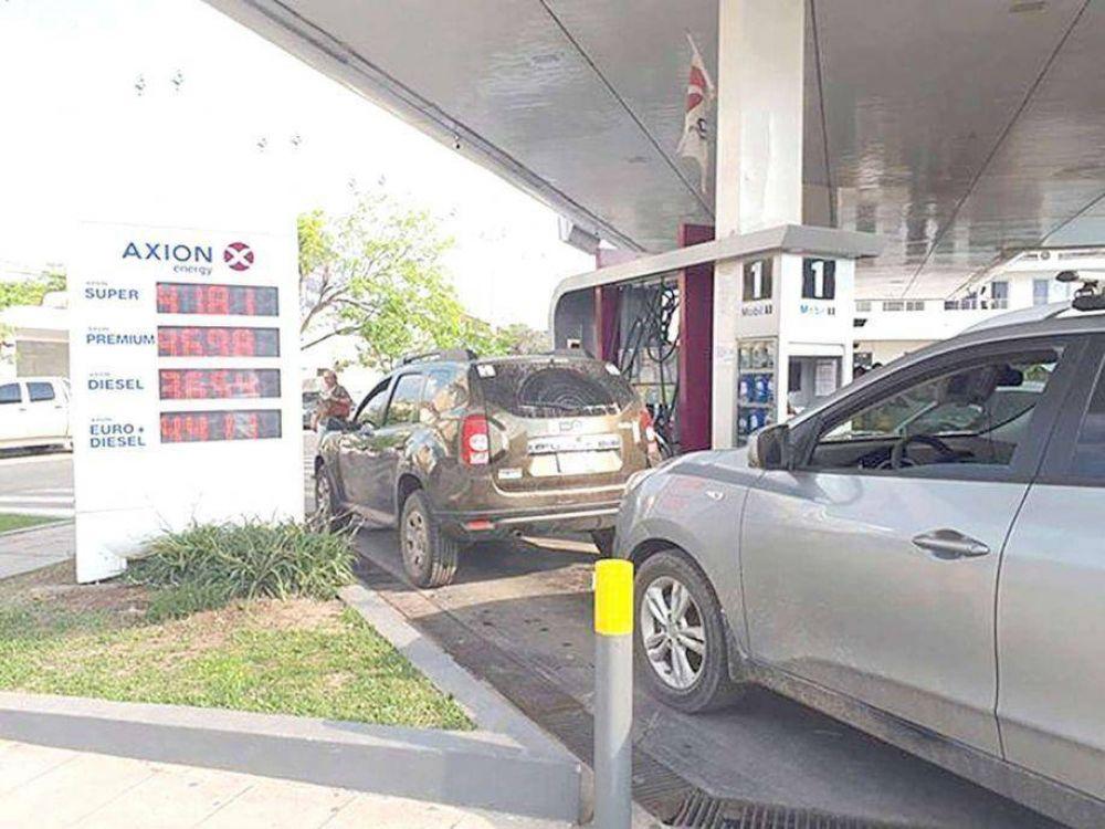 Sorprendente: Estación de Servicio Axion en Formosa bajó el precio de su combustible